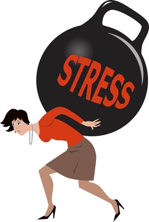 how stress harms body